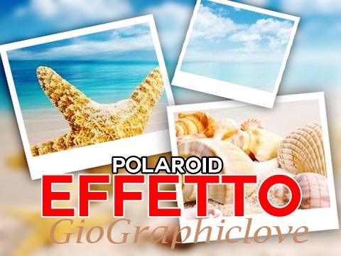 #effetto polaroid PHOTOSHOP CS6