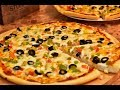 عجينة البيتزاء الايطاليه من غير بيض ومن غير حليب اكتر من رائعه مع صلصة البيتزاء الشهيه