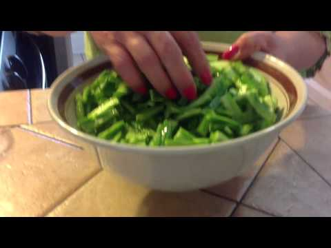 How To Peel And Cook Fresh Nopales/cactus