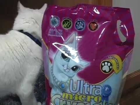 Ultra Micro Crystals Kitty Litter