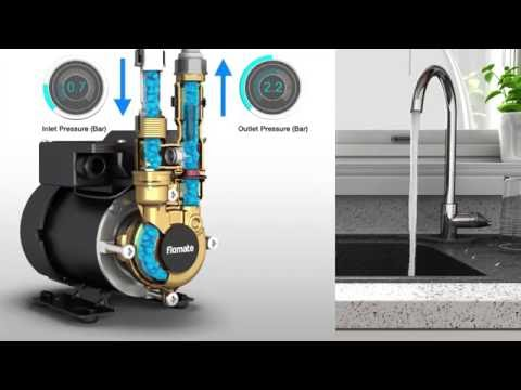 See the difference a Flomate Pump will make to your water pressure