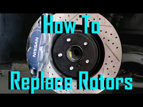 How to Install 2012 Nissan 370z Rotors and Brake pads