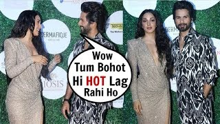Shahid Kapoor Openly FLIRTING With Kiara Advani In FRONT Of Media At Fit & Fab Awards 2019