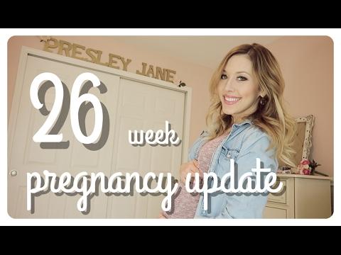 26 week pregnancy update | labor anxiety