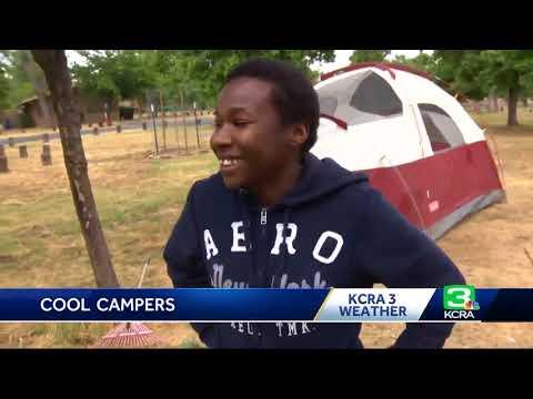 Campers brave rain in foothills, kick off Memorial Day weekend