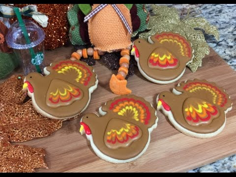 Thanksgiving Turkey Cookies(How To)