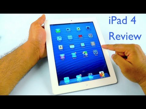 iPad 4 Review with WiFi + Cellular and Retina Display