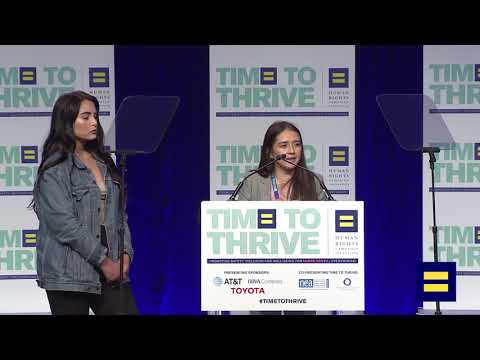 Yuridia Ramirez, Young Queer DREAMer, Speaks at 2018 Time to Thrive in Orlando
