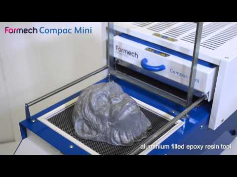 Formech Compac Mini - Manual Vacuum Forming Machine