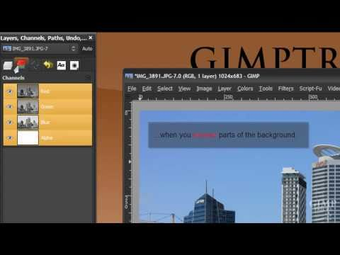 GIMP- What does