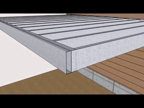 Steel Frame Kit assembly overview - Outer Space Deck Systems