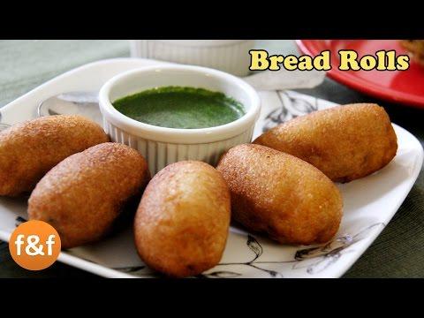 Bread Rolls Recipe | Potato Bread Rolls | Indian Breakfast Recipe - Evening snacks recipes
