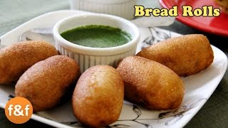 Bread Rolls Recipe Potato Bread Rolls Indian Breakfast Recipe Evening