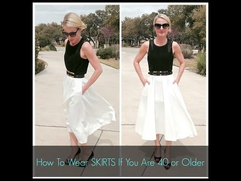How To Wear Skirts If You Are 40 Or Older
