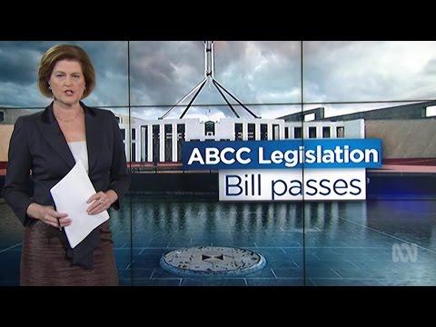 ABCC Bill Passes Senate
