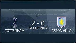 TOTTENHAM VS ASTON VILLA - FA CUP - 08/01/17