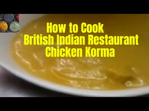 chicken korma - Indian cooking - pabda20