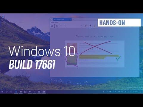 Windows 10 build 17661: Hands-on with new screenshot app, Fluent Design, more