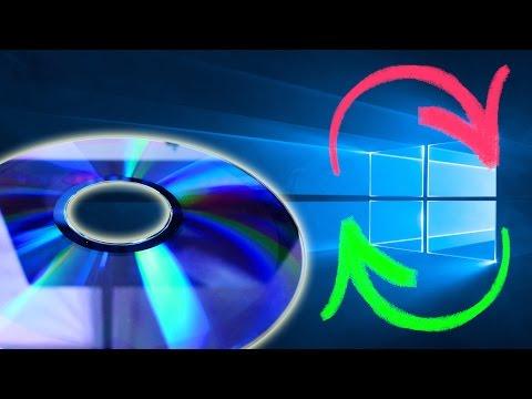Windows 10 neu installieren von CD/DVD - PC zurücksetzen