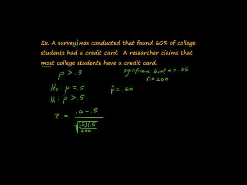 Hypothesis Tests: Test Statistics & Critical Values.mp4