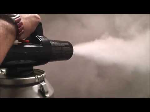 Getting rid of cigarette smell, Odorcide and Thermo fogging