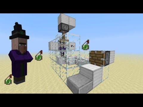 Minecraft Tricks - How to get Free Poison Potions for Mob Farms