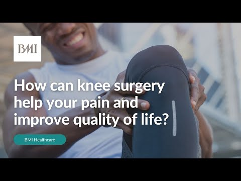 The benefits of knee surgery on quality of life