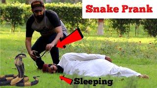 Real Snake Prank | Very Funny Reactions | Haris Awan