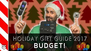 Best Tech Gifts On a Budget!