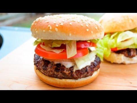 Lamb Kebab Burger - Video Recipe