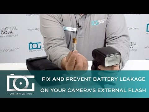 TUTORIAL   Fix and Prevent Battery Leakage on Your Camera's External Speedlite Flash   Altura Photo®