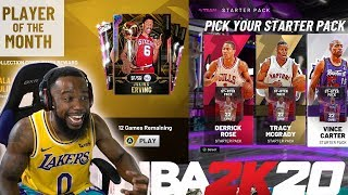 NBA 2K20 MyTeam |  FIRST STARTER PACK OPENING AND CHALLENGES!