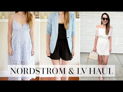 NORDSTROM & LOUIS VUITTON TRY ON HAUL!