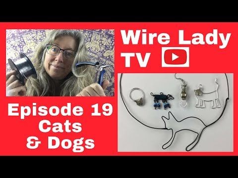 DIY Cat and Dog Jewelry: Wire Lady TV Episode 19