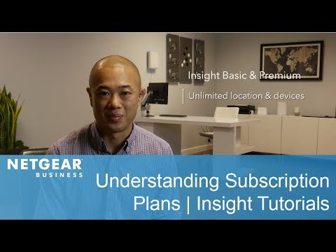 What's the Difference Between Basic and Premium Insight Subscriptions? | NETGEAR Insight Tutorials