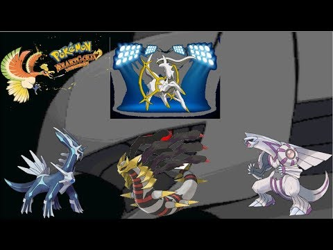 Pokemon Heart Gold/Soul Silver - The Sinjoh Ruins Event