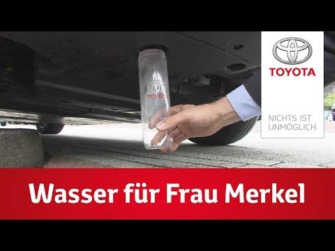 Der Toyota Mirai - Wasser für Frau Merkel