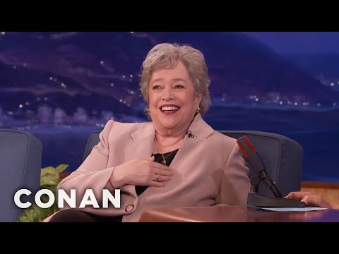 Kathy Bates On How Marijuana Has Helped Her & Others  - CONAN on TBS