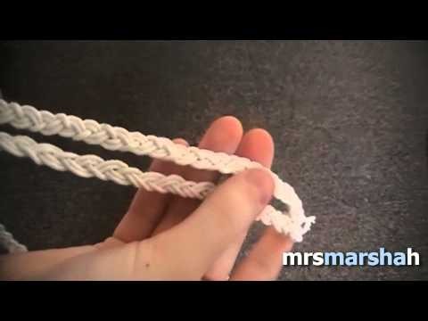 DIY: Double Braid Elastic Headband