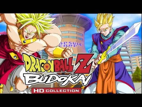 DBZ Budokai 3 HD - Broly vs Adult Gohan