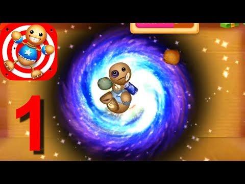 Kick the Buddy Power Of Gods Mega Gravity Ball Lightning Angel Android iOS Gameplay HD