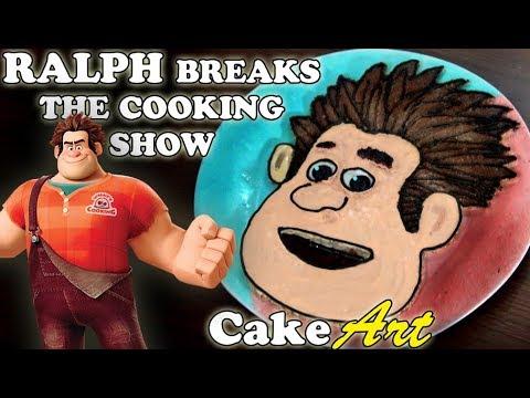 Ralph Breaks the Internet: Cake Art.