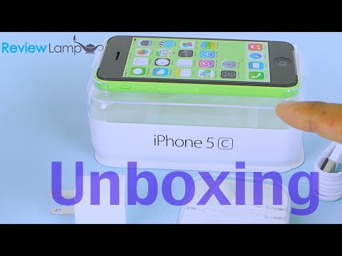 iPhone 5C Unboxing and Setup- iPhone 5C Unboxing Green