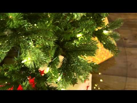National Tree Bayberry Spruce 7 ft Pre lit Slim