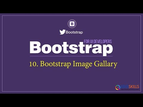 Bootstrap image Gallery tutorial | Responsive Image Gallary