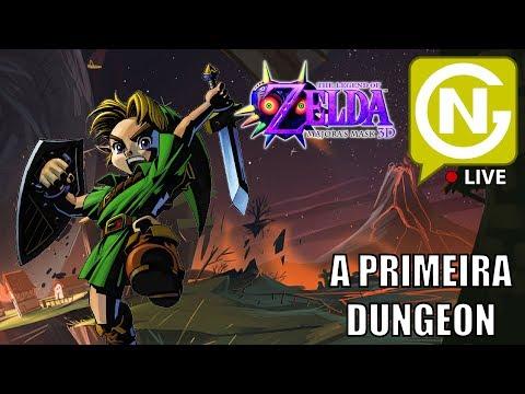 A Primeira Dungeon e o Primeiro Boss! | Zelda: Majora's Mask 3D #3