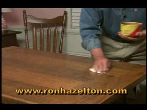 How to Clean and Wax a Wood Table