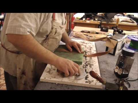 How I make a inlay  belt