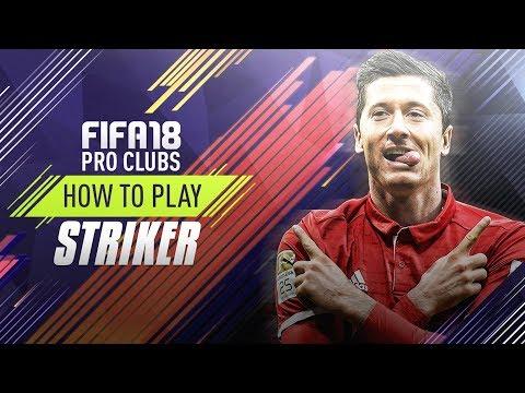 Fifa 18 | Pro Clubs Striker - Shooting Tips!