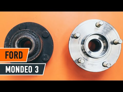 How to replace a Rear wheel bearing on FORD MONDEO 3 TUTORIAL | AUTODOC